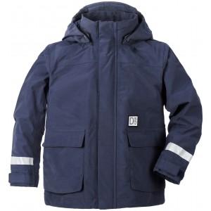 Mörkblå Callan Kids Jacket, Didriksons