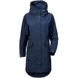 NAVY AGNES WOMENS COAT, DIDRIKSONS