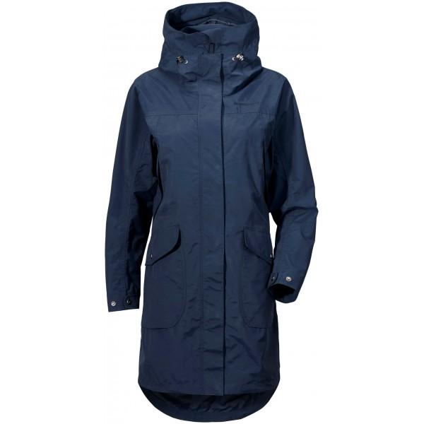 Mörkblå Agnes Womens Coat 2, Didriksons