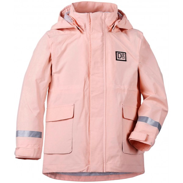 Rosa/Powder Pink Cora Kids Jacket, Didriksons