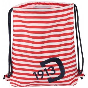 Red Striped Kids Galon Bag, Didriksons