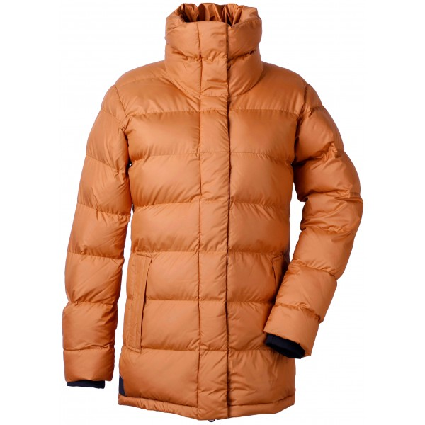 Leather Brown Hedda Womens Jacket, Didriksons