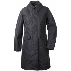 BLACK LAILA WOMENS COAT, DIDRIKSONS