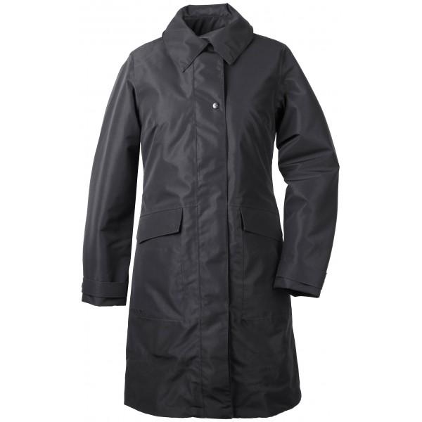 Black Laila Womens Coat, Didriksons