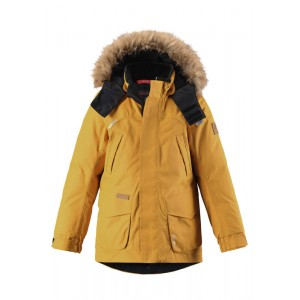 YELLOW/VINTAGE GOLD SERKKU REIMATEC DOWN JACKET, REIMA