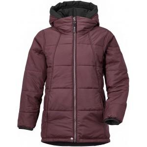 Dark Red/Old Rust Bancroft Reversible Girls Jacket, Didriksons
