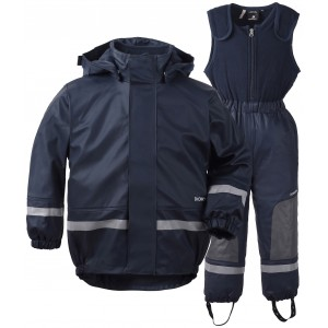Navy Boardman Kids Set, Didriksons