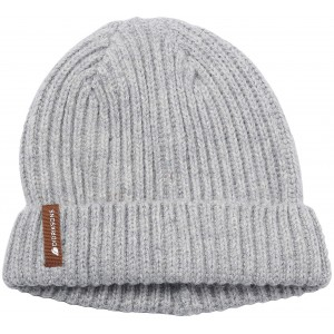 Grey Nilson Knitted Kids Beanie, Didriksons