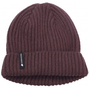 Dark Red/Old Rust Nilson Knitted Beanie, Didriksons
