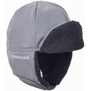 Silver Biggles Reflective Cap, Didriksons