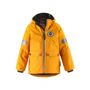 YELLOW/VINTAGE GOLD SEILAND REIMATEC WINTER JACKET, REIMA