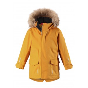 YELLOW/VINTAGE GOLD MYRE REIMATEC WINTER JACKET, REIMA