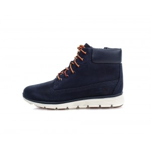 BLACK IRIS NUBUCK KILLINGTON 6 IN JUNIOR, TIMBERLAND