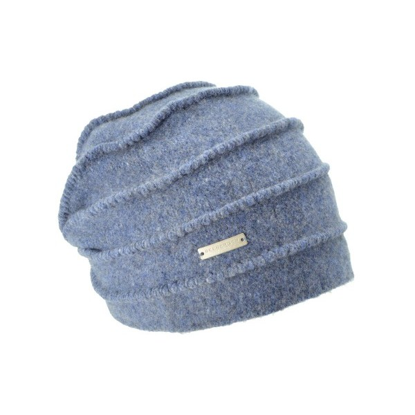 Blå/Indigo Boiled Headsock Zigzag, Seeberger