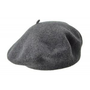 Anthracite Grey Silia Beret, Seeberger