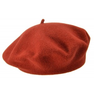 Wine Red Silia Beret, Seeberger