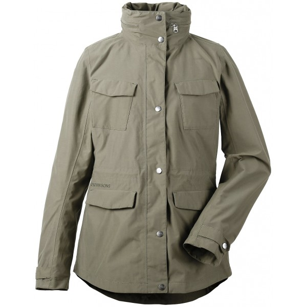 Dusty Olive Josefa Womens Jacket, Didriksons